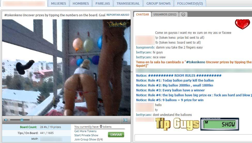 trabajar con webcam en pareja