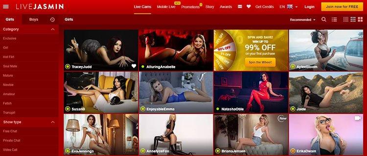 cam sites livejasmin