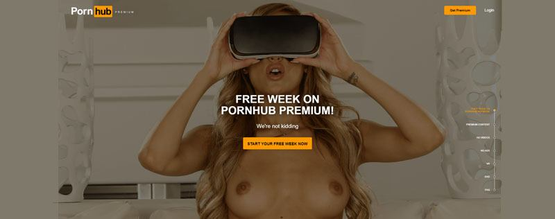 best vr porn sites PornHub VR