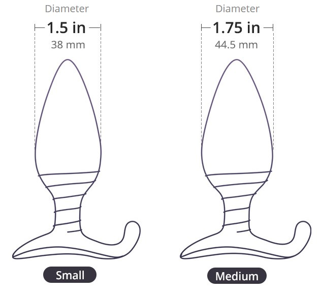 lovense hush sizes